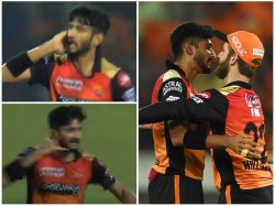 Hyderabad Pacer Khaleel Ahmed S Phone Call Celebration Video Becomes Viral