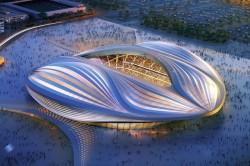 World Cup Stadium Inaugurated In Qatar