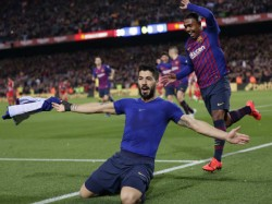 Barcelona Striker Luis Suarez Ruled Out For Four To Six Weeks Due To Injury