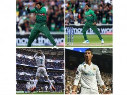 Icc Trolled After Comparing Bangladesh Player To Football Legend Cristiano Ronaldo