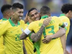 Brazil Paraguay Copa America Match Quarter Final Match