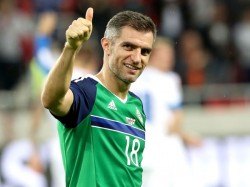Aaron Hughes Former Irish Captain
