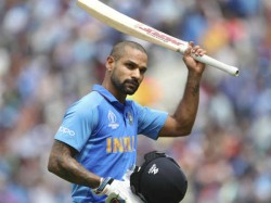 Indian Opener Shikhar Dhawan Ruled Out Of World Cup For Three Weeks Due To Injury