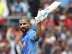 Shikhar Dhawan Ruled Out World Cup