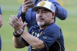 Maradona Blames Argentina