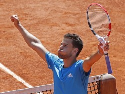 French Open Thiem Defeat World Number One Novak Djokovic