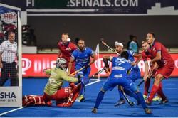India Thrash Russia In Fih Series Hockey