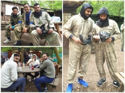 Indian Cricket Team Trolled For Fun Day Out In The Woods