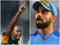 Kohli Is Immature And Cant Take Abuse Says South African Speedstar Rabada
