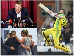 Australian Opener David Warner Credicts Wife For His Impressive Come Back