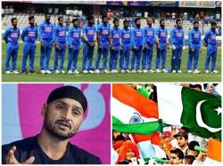 Pressure On India Against Pakistan Says Former Spinner Harbhajan Singh