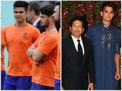 Arjun Tendulkar Helps England Team To Prepare For Australia Match In World Cup