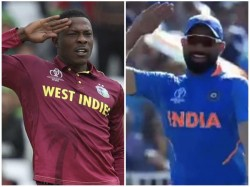 Indian Pacer Mohammed Shami Mimics Windies Player Cottrell S Salute Celebration