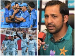 Pakistan Captain Sarfraz Ahmed On India England Match