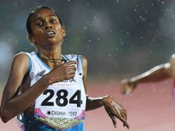 Pu Chithra Wins Gold