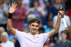 Roger Federer On Court Coaching