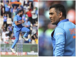Ms Dhoni Chat With Mohammed Shami