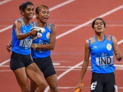 Indian Relay Teams Asian Games Silver To Be Gold