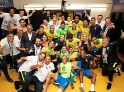 Brazil Peru Copa America Match Final