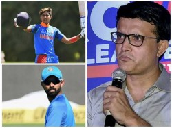 Sourav Ganguly Not Happy With India Squad For West Indies Tour