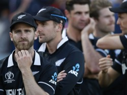 Kane Williamson And Eoin Morgan After World Cup Final