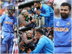 Virat Kohli Meet Old Woman After Match