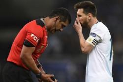 Referee Zambrano Explains Controversial Decisions