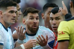 Lionel Messi Refuses Receive Bronze Medal