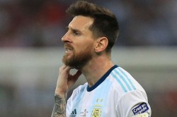 Argentina Player Lionel Messi Banned