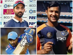 Players Who Could Have Been Considered By India Ahead Of Mayank To Indian Team