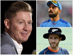Former Australian Captain Clarke Predicts Winner Of India Newzealand Semi Final