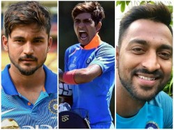 Manish And Krunal Helps India A Team To Win Series Against Windies A
