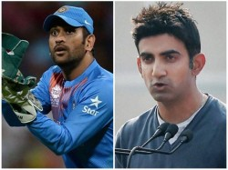 Gambhir Names Players Who Can Succeed Ms Dhoni In Indian Team