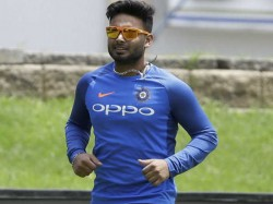 Rishah Pant To Work On Fielding Says Indian Fielding Coach R Sridhar
