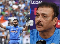 Ravi Shastri Says God Was In England S Dressing Room