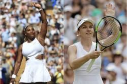 Wimbledon Serena Williams Face Simona Halep In Womens Singles