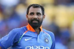 Us Denied Visa For Indian Cricketer Mohammed Shami