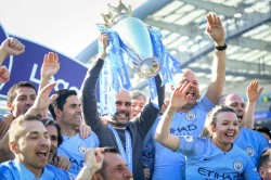 Manchester City Win Community Shield