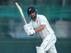 Grandhome Walting Helps New Zeland To Take Firat Innings Lead