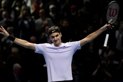 Federer Djokovic Advanced In Cincinnati Open