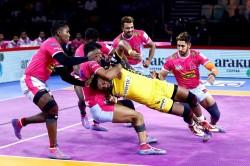 Pro Kabaddi 2019 Jaipur Pink Panthers Vs Telugu Titans