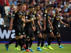 Manchester City Beats West Ham United English Premier League
