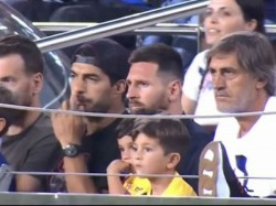 Lionnel Messi S Reaction To Son S Goal Celebration Against Barcelona