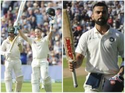 Former Australian Captain Steve Smith Pips Indian Captain Kohli In Test