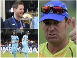 Former Australian Legend Shane Warne Gives His Take On World Cup Final Over Throw