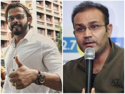 Former Opener Sehwag Talks About Malayalee Pacer S Sreesanth S Comeback To Cricket