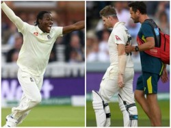 England Pacer Jofra Archer Imitates Australian Player Steve Smith In Training