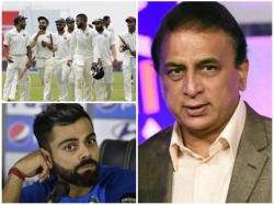 Sunil Gavaskar Reacts To Indian Team Selection For First Test