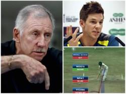 Lost His Brain Ian Chappel Slams Australian Captain Tim Paine