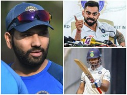 Indian Captain Kohli Reveals Why Rohit Was Left Out In First Test